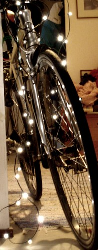 bike ready for the christmas