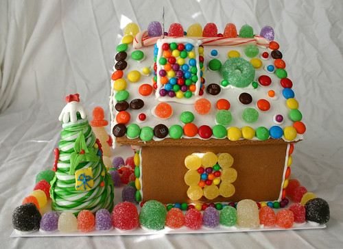 Gingerbread House -- Right Side