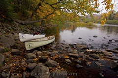 canoes Oxtongue River Ontario Canada (Rolf Hicker Photography) Tags: world travel ontario canada fall nature river boats boat scenic canoe canoes rivers provincialpark travelphotography fallpictures easterncanada provincialparks travelcanada rolfhicker oxtongueriverraggedfallsprovincialpark honeymooncanada travelontario hickerphotocom
