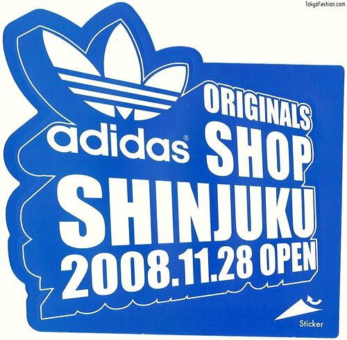 Adidas Originals Shinjuku Sticker