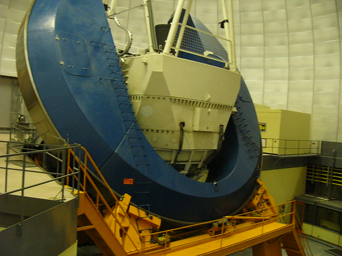 A view of the 4 meter telescope.