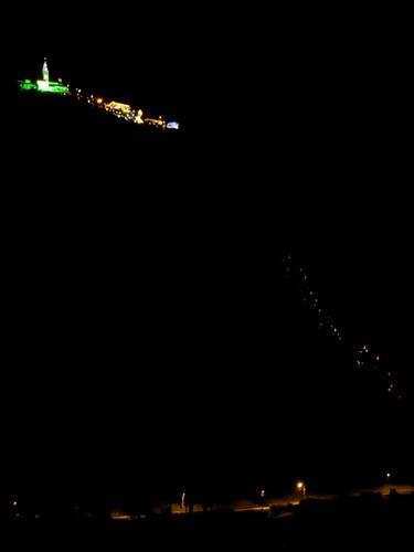 Foto tomada desde el Mirador de la Torre Colpatria. Camino a Monserrate por Pablo Torres Méndez.