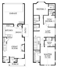 Henley B Interior Blueprints