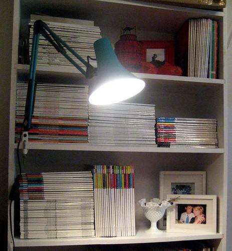 a few magazines
