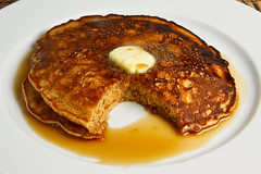Gingerbread Pancakes (Kevin - Closet Cooking) Tags: food pancakes ginger maple gingerbread syrup