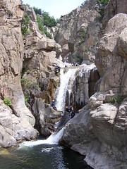 Canyoning dans les Gorges du Chassezac (Cévennes)