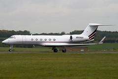 N509QS - 637 - Netjets - Gulfstream V - Luton - 090506 - Steven Gray - IMG_2142