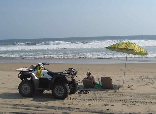 Arroyo Seco beach scene