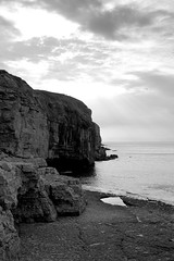 Dorset, England, 2011 (14 of 20).jpg (longboy74) Tags: blackandwhite seascape religion highcontrast dorset thechannel dancingledge englisheccentricity naturalswimmingpool theenglishchannel thebreakthrough thejurassiccoast dynamitedswimmingpool coldwaterswimmingvenue