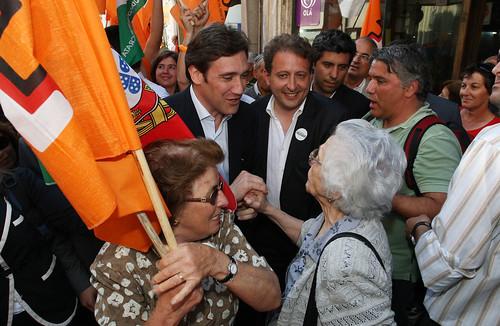 Pedro Passos Coelho arruada em Viana do Castelo