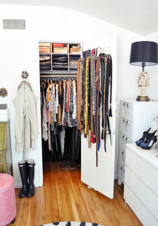 my closet in my dressing room