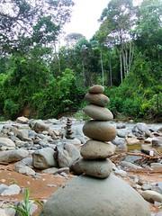steintürme (schneckk2) Tags: costa rain forest reisen rica jungle tropics dschungel regenwald tropen mittelamerika entdecken