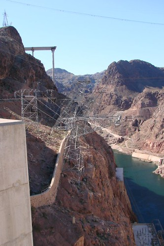 Hoover Dam new road beng built