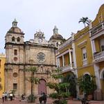 Cartagena: Iglesia de San Pedro Claver y entorno