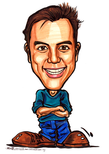 Caricature birthday 290208 A4