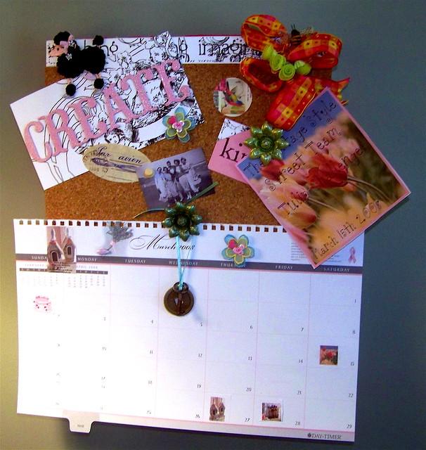 Create a Calendar sticker on flickr