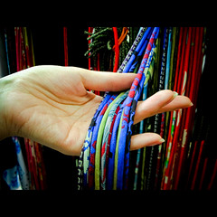 braid (Masahiro Makino) Tags: japan photoshop nikon kyoto shrine hand adobe  coolpix s1 braid  lightroom   kitanotenmanguh tenjinsan  feelfreetotagthis 20070825140427s1s25p