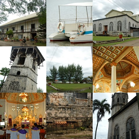 Dauis church collage