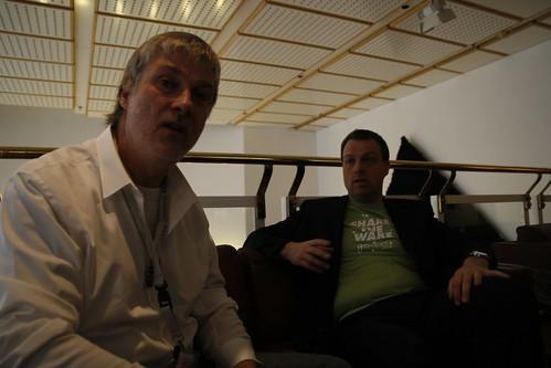 Steve Pepper og Christer Gundersen