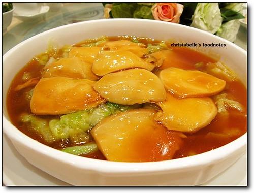 世貿聯誼社婚宴 蠔皇美鮑片abalone