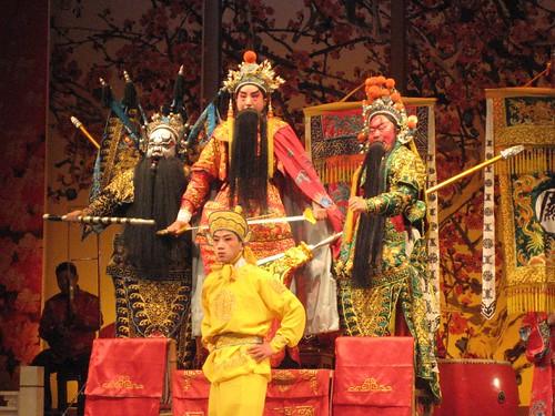 Sichuan Opera performers