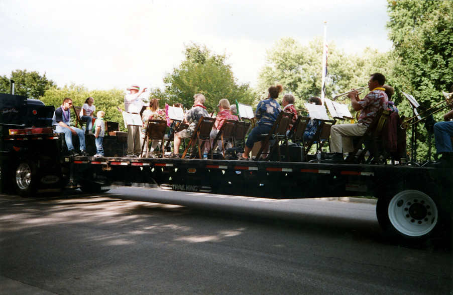Manchester Civic Band at Fun Fest 2004