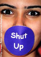 Who's Care about ur talking !! (Banafsaj_Q8 .. Free Photographer) Tags: woman up free photographers stupid about ur kuwait care talking whos kw shut الكويت kuw banafsaj banafsajq8