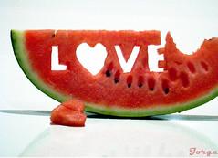 LOVE (Jorge L. Gazzano) Tags: love like it amei éminha melância amorpsyche duetos alemdagqualityonlyclub hawaalrayyanfav queroumamordida prontojatemdono