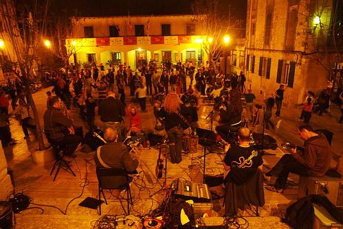 Festa a Sa Plaça a Montuïri