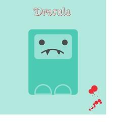 Dracula (ratetadelbosc) Tags: verde green monster blood dracula draw dibujo sang vector sangre dibuix verd monstruo turquesa vectorizado colmillos chupasangre chuasangre