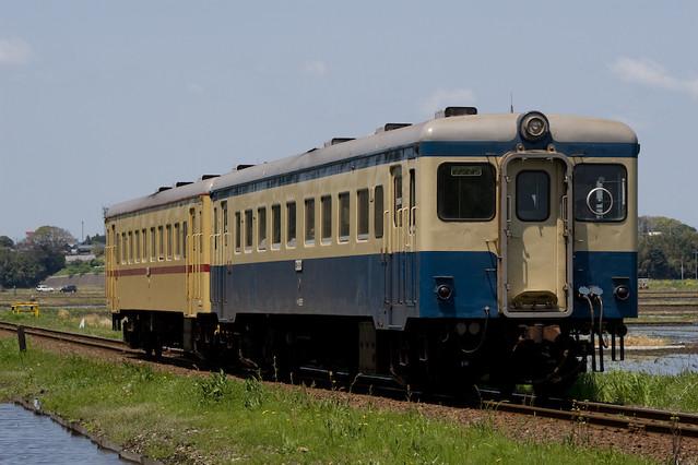 茨城交通キハ222+キハ2004