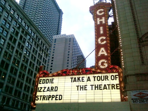 Chicago Theater Eddie Izzard Stripped