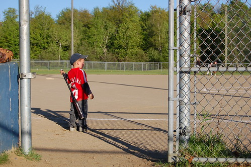 Baseball Kid - ISO 200, F8 @ 1/400, 50mm