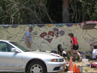 The Renegade Mosaic Mural