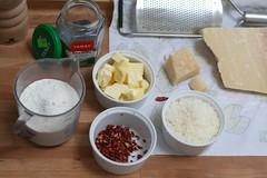 Ingrédients bretzels sablés