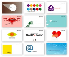 Business  cards (yoc2008) Tags: businesscards 2008 oro bethechange belowtheline adciawards