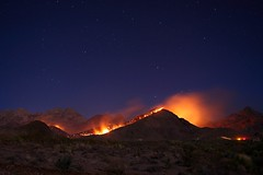 Organ Mountain Fire 14JUN08 - 8 (The Korky) Tags: road park new las blue rescue orange mountain news television night truck sunrise canon stars mexico fire lights newspaper all texas photographer state wind time smoke 4 aaron police 9 el canyon jackson invitation rights springs paso excellent vehicle times soledad usm capture emergency cruces inspire reserved ef dripping channel wards nowpublic lapse blm 2470mm kdbc f28l specnature 40d abigfave aaronjackson anawesomeshot diamondclassphotographer flickrdiamond betterthangood lascrucesbulletin elpasoinc vicariousphotography vicariousphotographycom vicariousphotographygmailcom wwwvicariousphotographycomcopyright