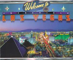 Las Vegas, Nevada (Bubble-Gum II) Tags: postcard postcrossing collection bubblegum
