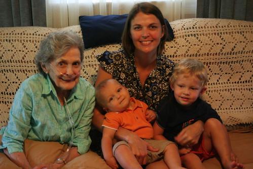 Nanny, Sherry, Jude & Noah