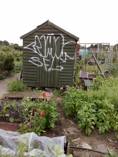 Graffiti'd
