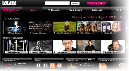 iPlayer beta