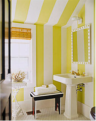 Inspiration: House Beautiful (maliburachel) Tags: inspiration tile bathroom stripes stripe whimsical housebeautiful