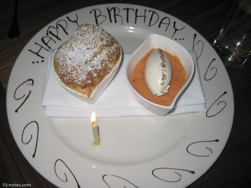 Happy Birthday Dessert!