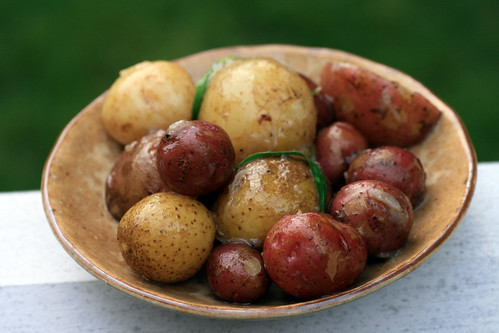 braised potatoes