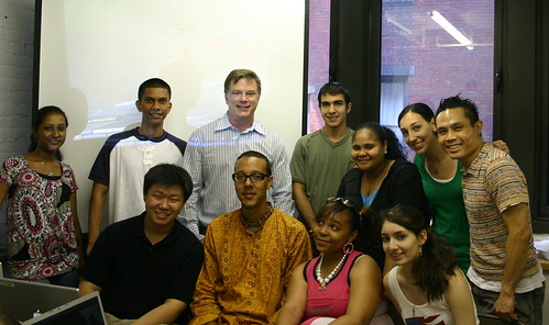 M Linden with IDT Participants