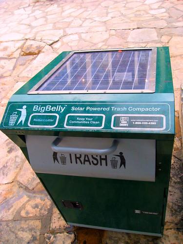 BigBelly Solar Trash Compactor