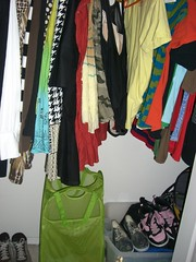 organized closet: after
