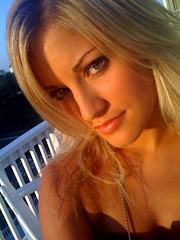 Outside (ijustine) Tags: beauty smile mobile blog iphone ijustine iphonephoto takenwithaniphone