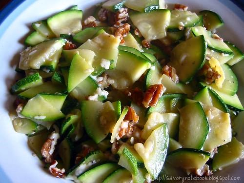 Zucchini-Pecan Saute