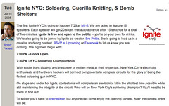 Soldering, Guerilla Knitting, & Bomb Shelters - O'Reilly Radar_1216343415111